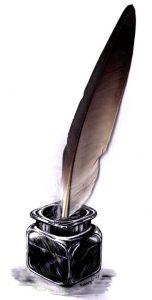 pluma-escribano